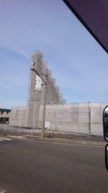 福井県越前市足場工事