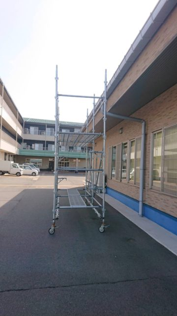 ローリング足場(福井市)