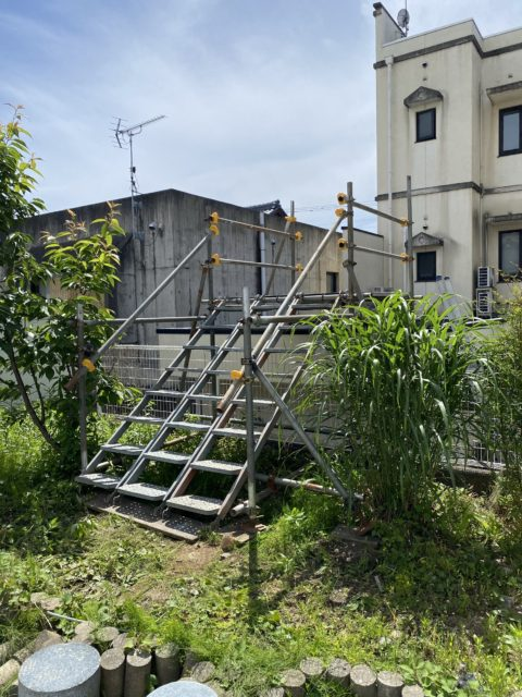 足場工事 (鯖江市)